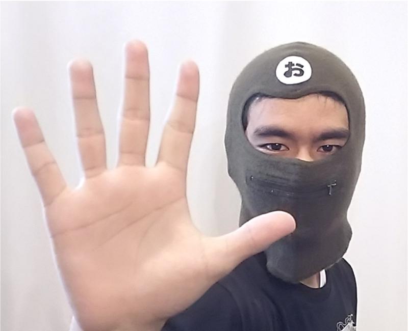 おくちチャックマン5号